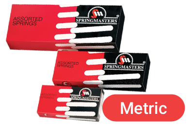 mixed springs in metric measurements